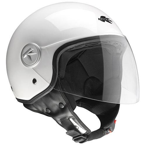 Kappa KV20 Rio long visor jet helmet White