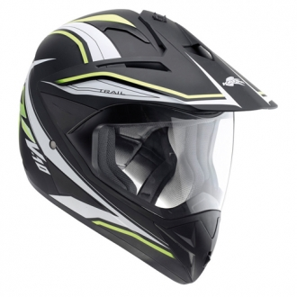 Cross helmet Kappa KV10 Trail Black Neon Yellow
