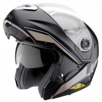 Modular Helmet Matte Black Kappa KV12