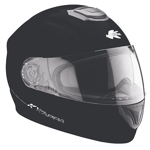 Kappa KV21 Toledo full face helmet matt Black