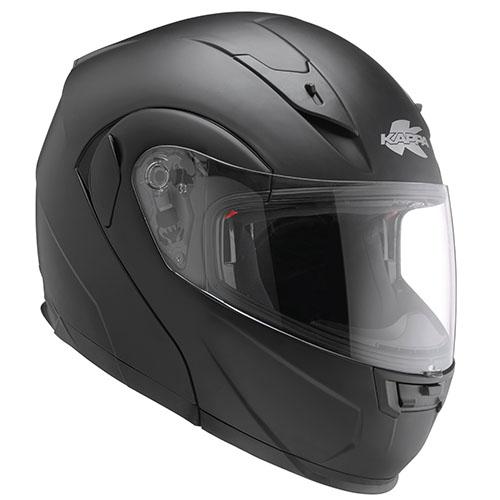 Kappa KV25 Nevada flip off helmet matt Black