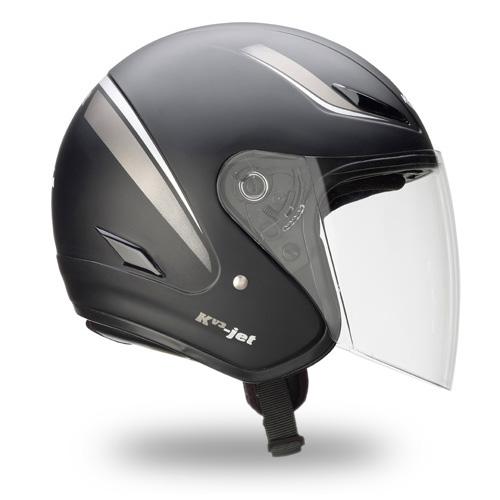 Kappa Kv3 jet helmet matt black