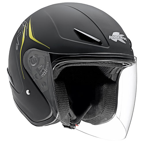 Kappa KV3 Urban Experience jet helmet matt Black