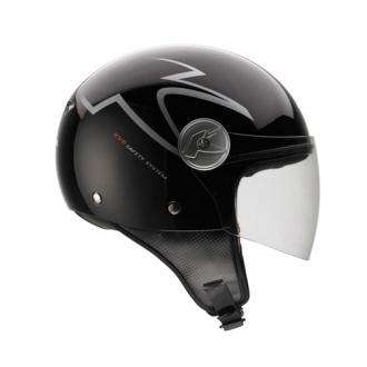Kappa Demijet helmet gloss black KV6