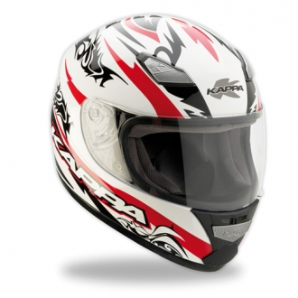 Casco integrale Kappa kv7 black red