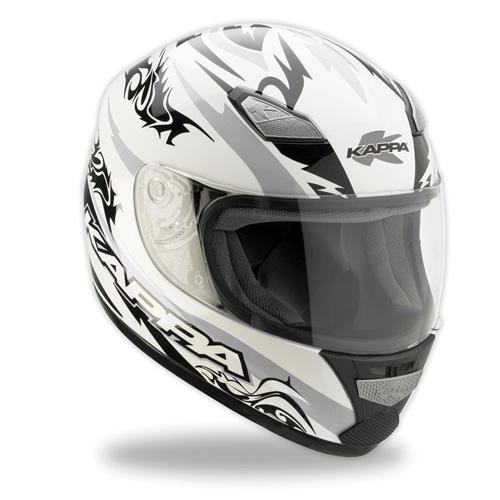 Kappa Full face helmet gray black KV7