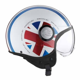 Casco jet Kappa KV8 Flag UK