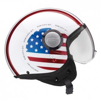 Jet helmet Kappa KV8 Flag USA