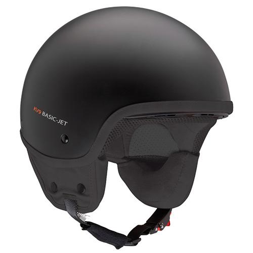 Kappa Demijet helmet matt black kv9