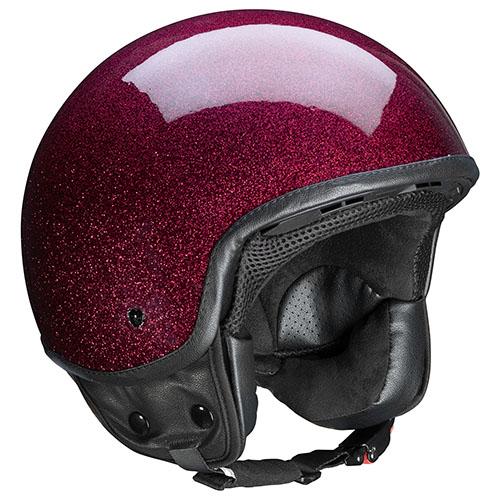 Kappa KV9 Varadero jet helmet Bordeaux