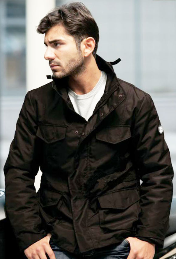 Humans motorcycle jacket Broadway Nero