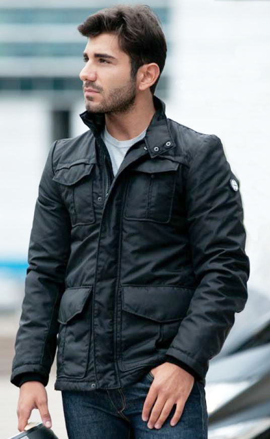 Humans motorcycle jacket Manhattan Nero
