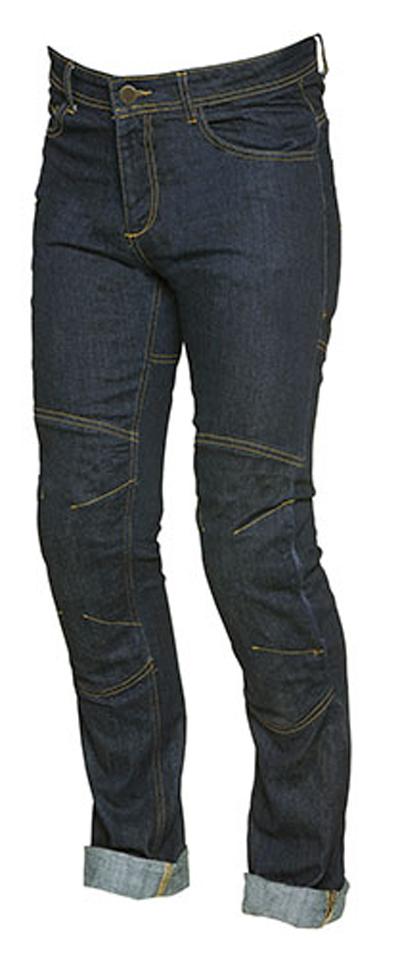 Jeans moto donna Hevik Genoa Blu scuro