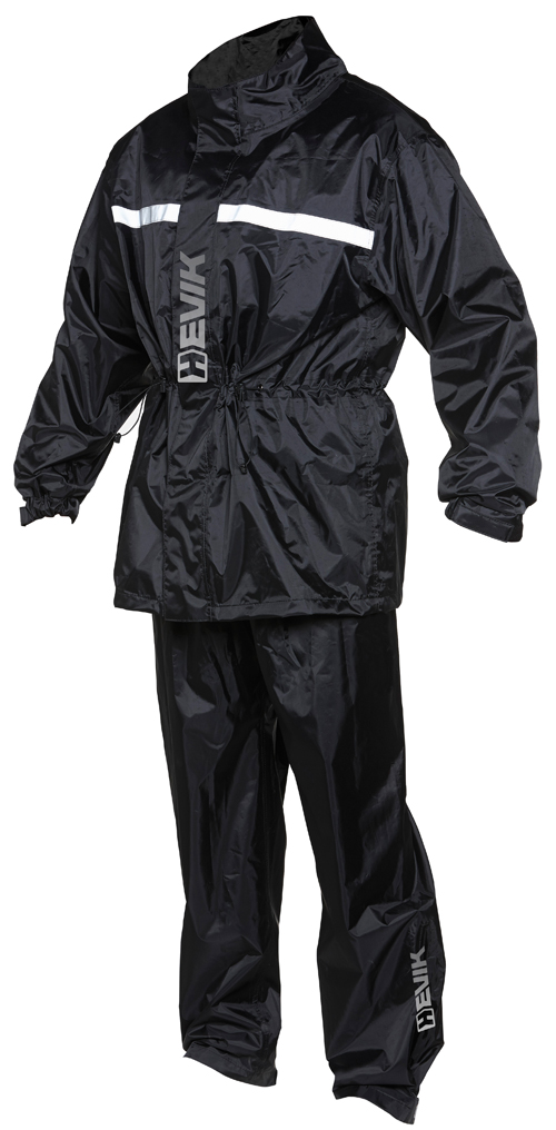Piece suit Hevik Dry Rain Light Black