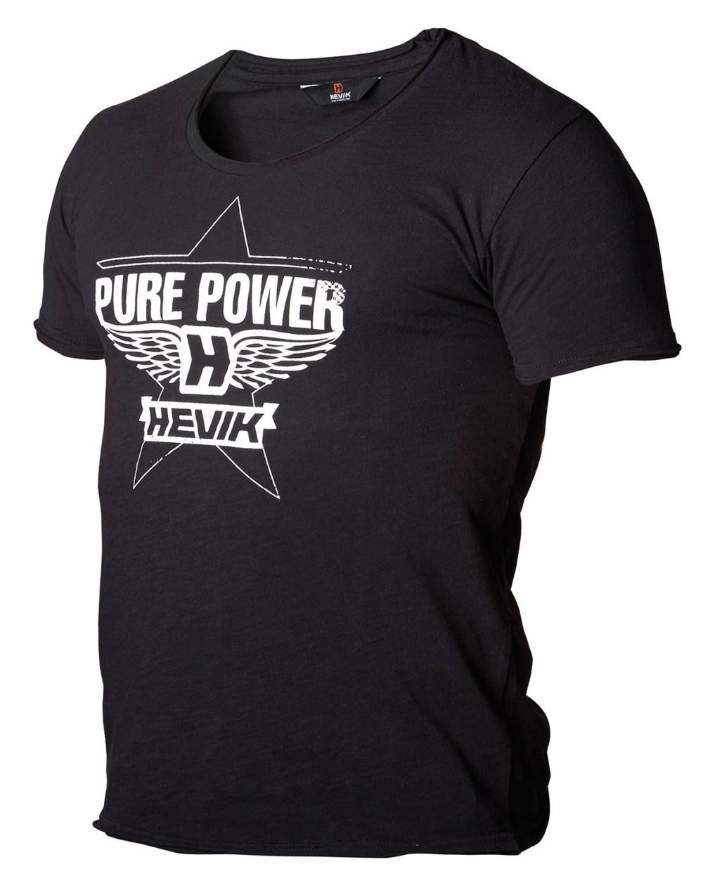 Base layer short sleeves Hevik Black Power