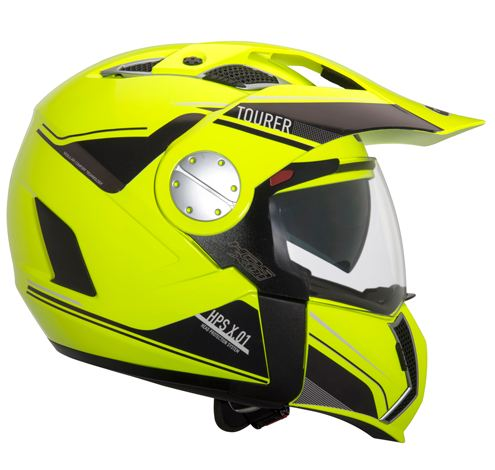 Modular helmet Givi X.01 Tourer Yellow fluo