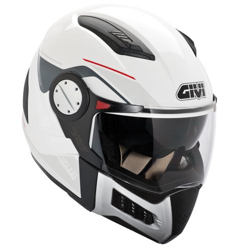 Modular helmet matte black Givi X.01 Comfort