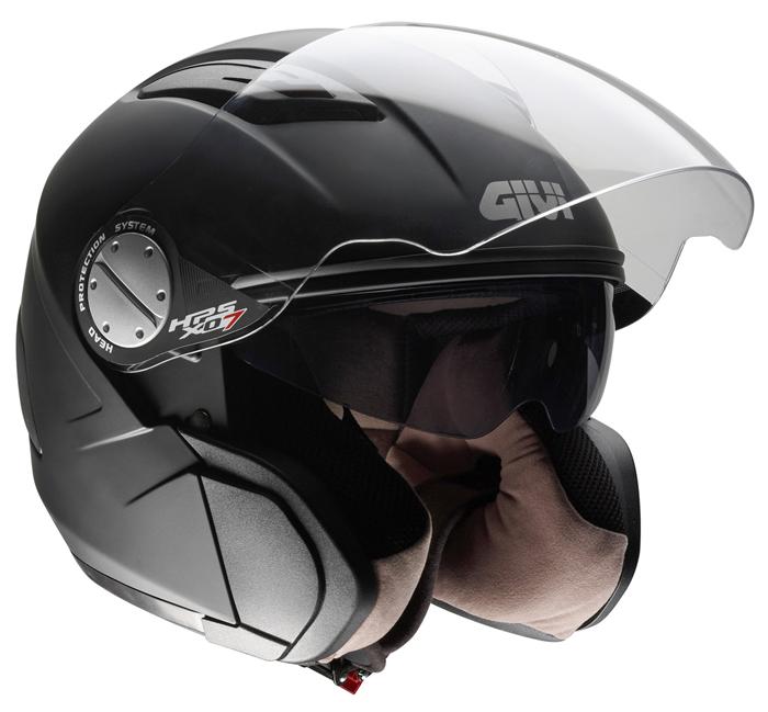 Jet Helmet Givi X.07 Comfort-J Matte Black