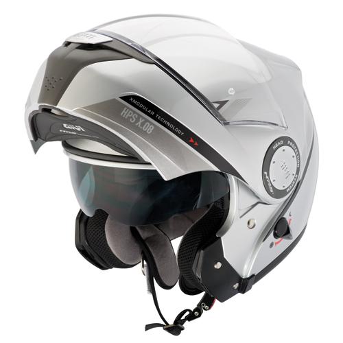 Modular Helmet Modular Givi X.08 X-Silver