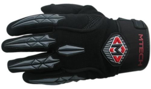 MTech M-Fastsummer gloves Black-Grey