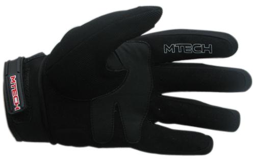 Guanti moto estivi MTech M-Fast Nero-Grigio