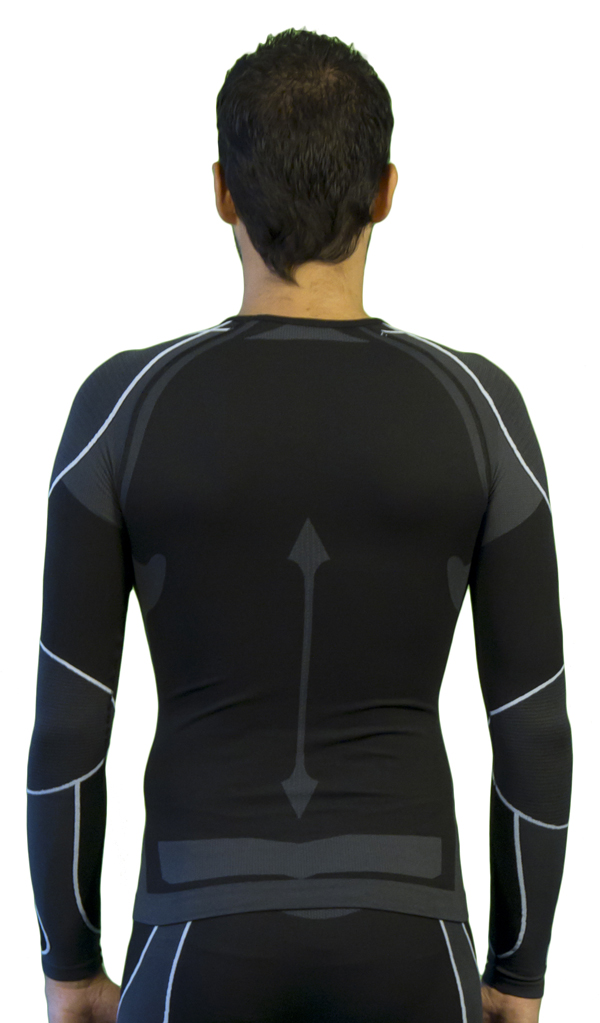 Long sleeve Mico Warm Skin Anthracite