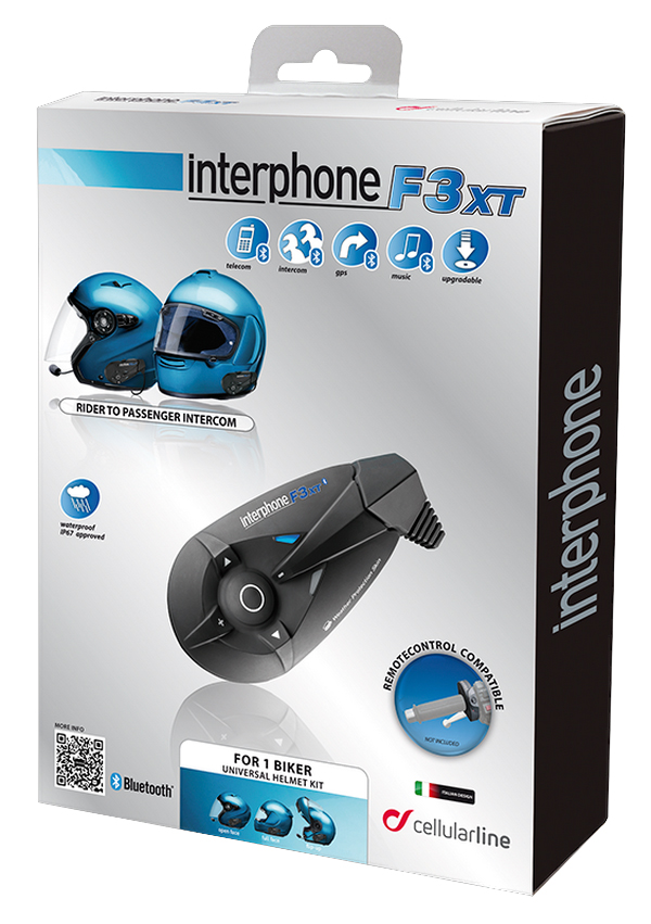 Cellular Line F3XT interphone single kit