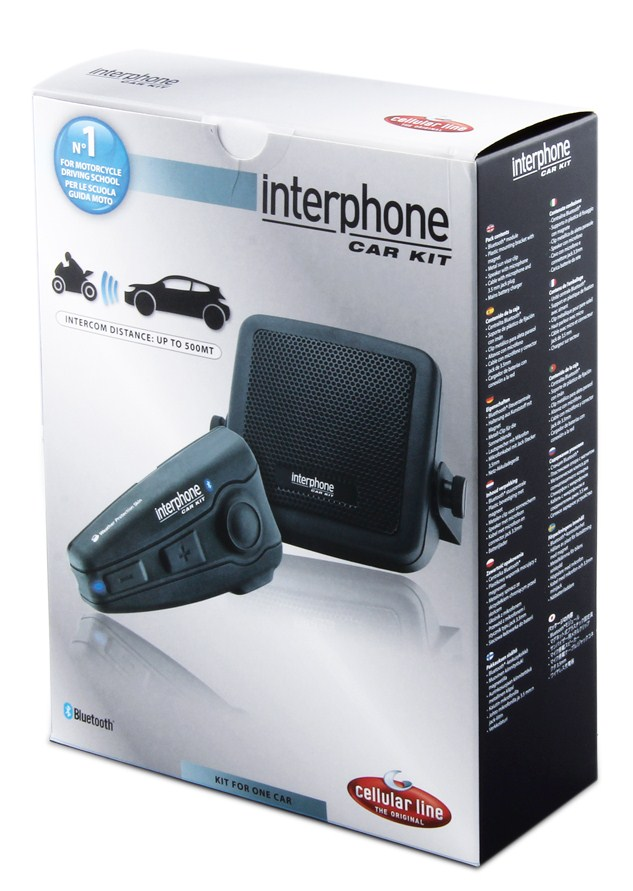 Interfono Bluetooth Cellular line kit auto