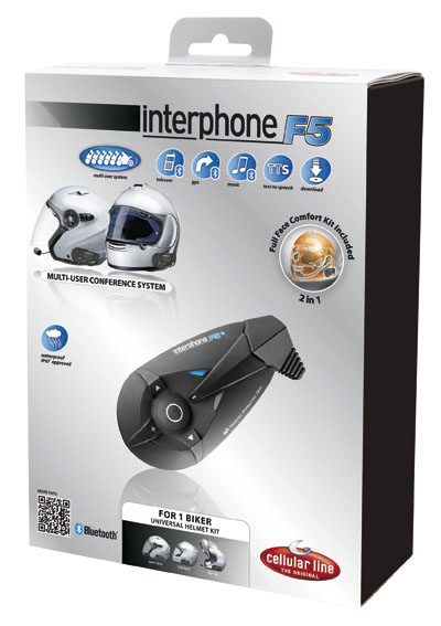 Interfono F5 kit singolo conferenza max 6 utenti Cellular Line