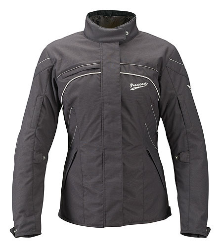 Prexport Iris 3 layer woman waterproof jacket Black
