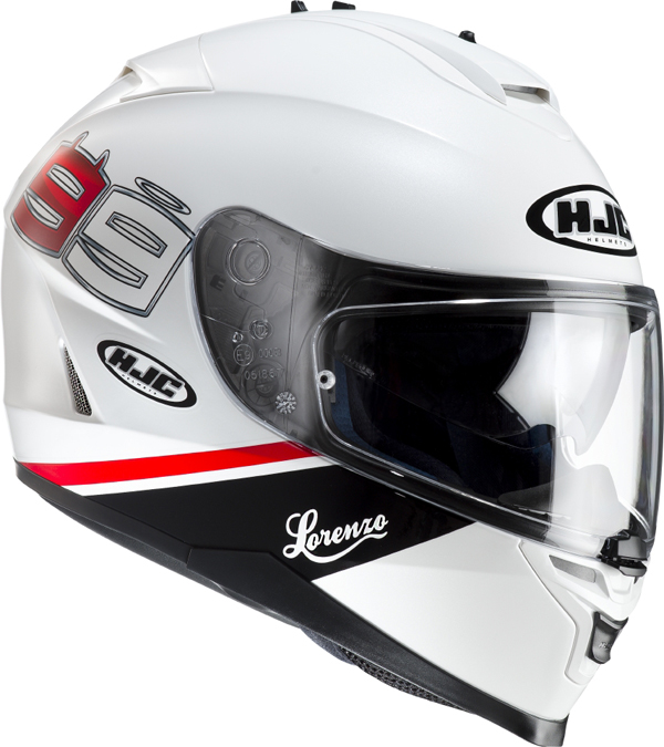 Casco integrale HJC IS17 Lorenzo 99 MC10