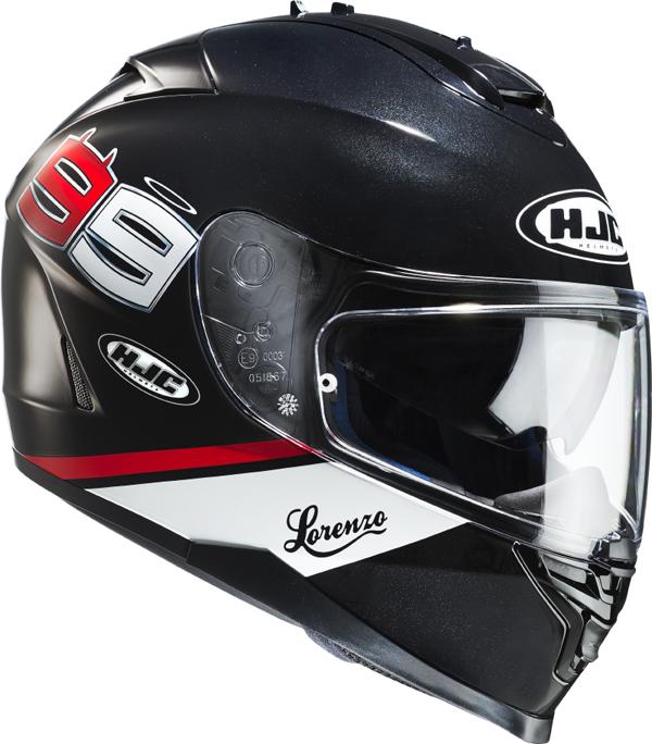 Full face helmet HJC IS17 Lorenzo 99 MC5
