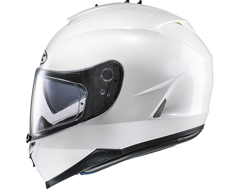 Casco integrale HJC IS17 Bianco Perla Ryan