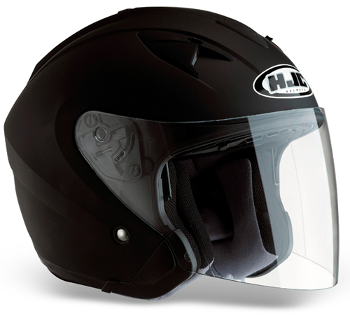 HJC IS33 jet helmet Matt Black