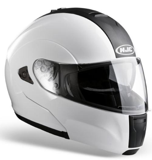HJC ISMAX BT flip off helmet White