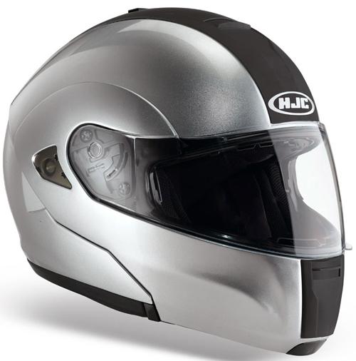 HJC ISMAX BT flip off helmet Silver