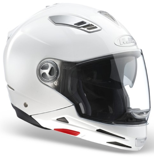 HJC ISMULTI flip off helmet all in one White