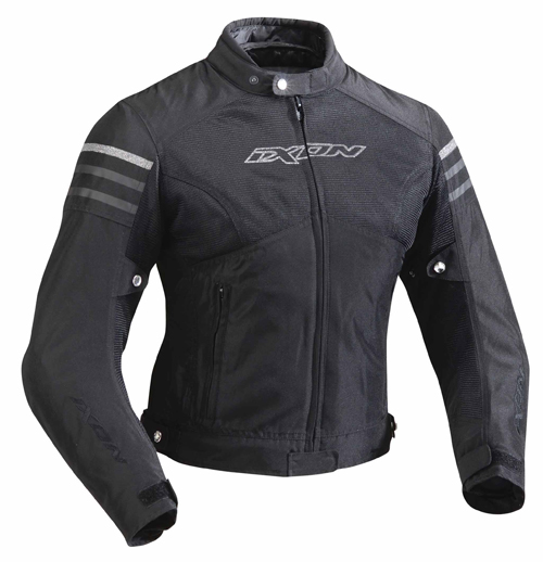 Ixon Electra 3 in 1 motorcycle jacket black-silver