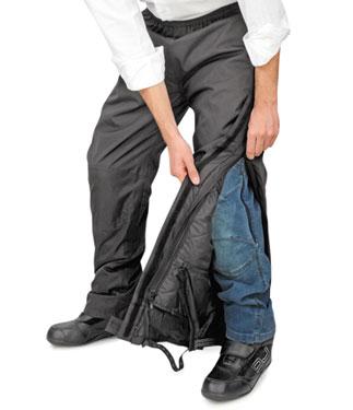 Pantaloni moto OJ Hot Pant neri