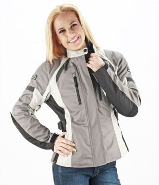 OJ Unstoppable Lady motorcycle jacket 4 seasons grey