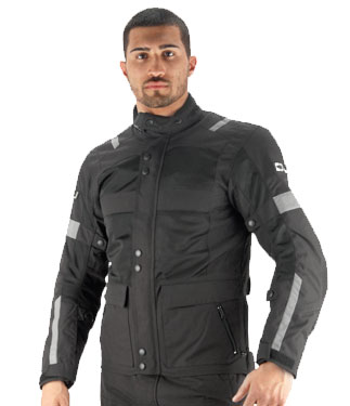 Oj Revenge J motorcycle jacket double layer black