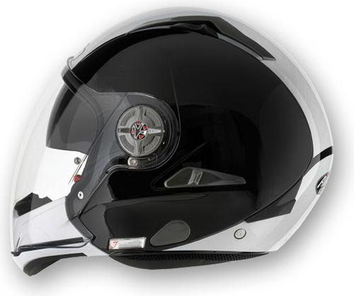 AIROH J-105 Bicolor Modular Helmet - Col. Black