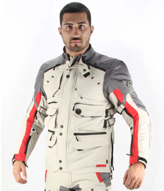 Oj Desert Tech jaket ice-red