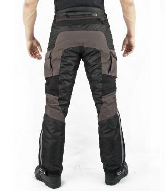 Pantaloni moto OJ DESERT TECH fumo