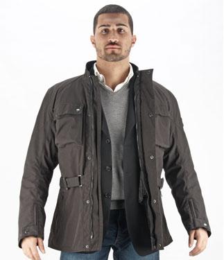 Oj Spirit motorcycle jacket 4 seasons black