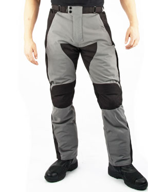 Oj Naviogator motorcyale pants triple layer grey-black