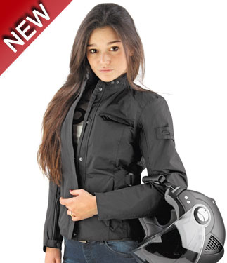 Oj Life lady waterproof jacket black