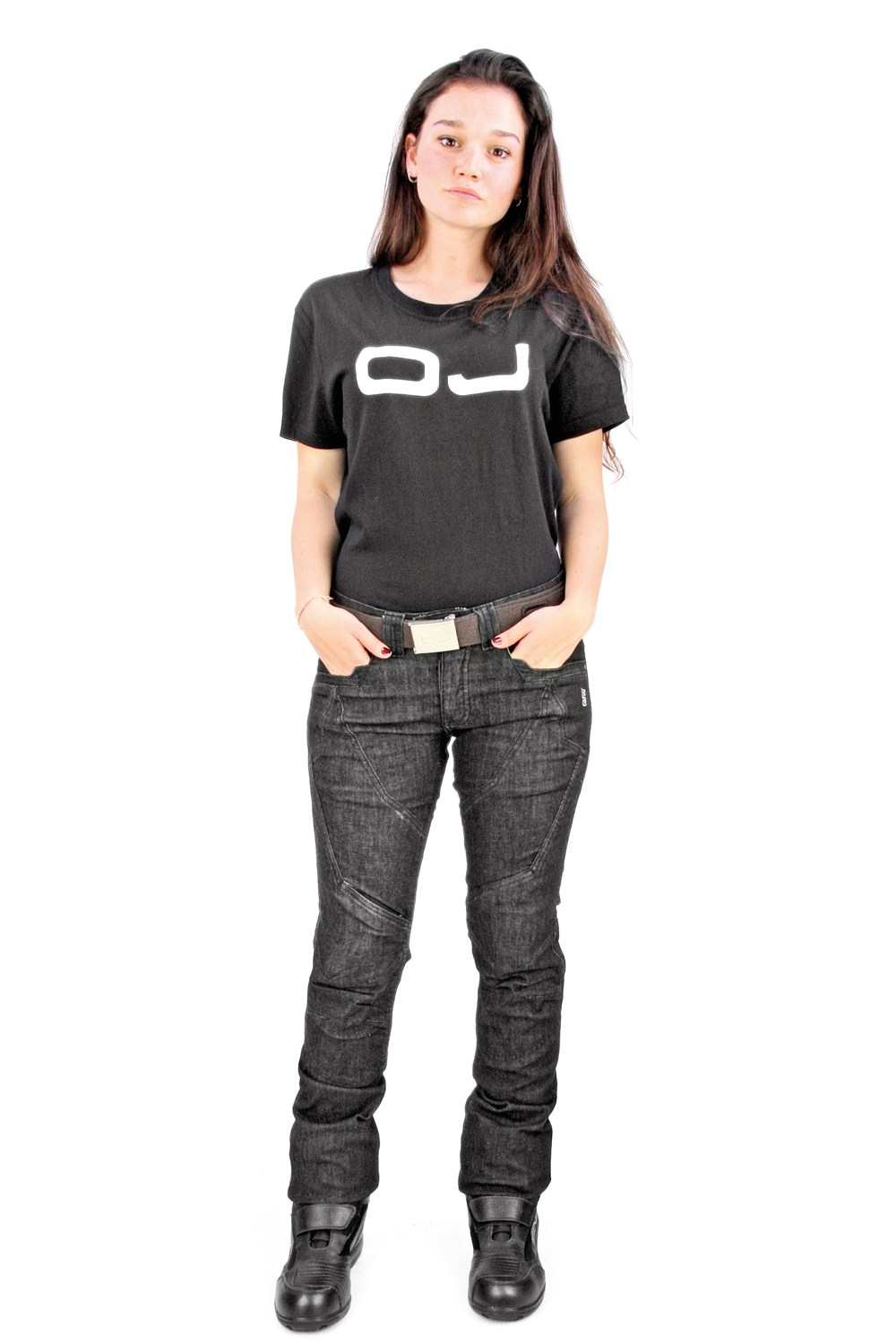 OJ Muscle Lady jeans black