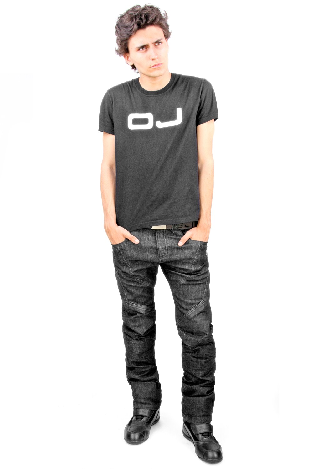 OJ Muscle Man jeans black
