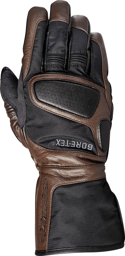 Alpinestars Java X-Trafit RipStop and leather gloves black choco